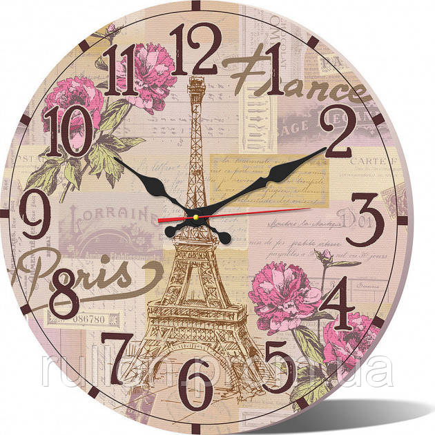 Часы настенные круглые YS-Art 33х33см (CL014)