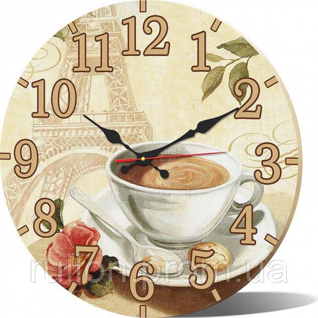 Часы настенные круглые YS-Art 33х33см (CL015)
