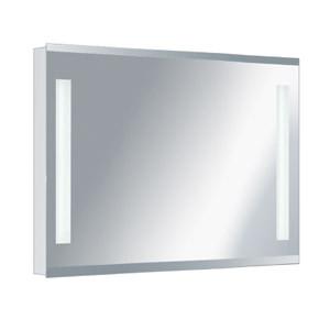 Зеркало для ванной влагостойкое с подсветкой 80 х 65 см ф10