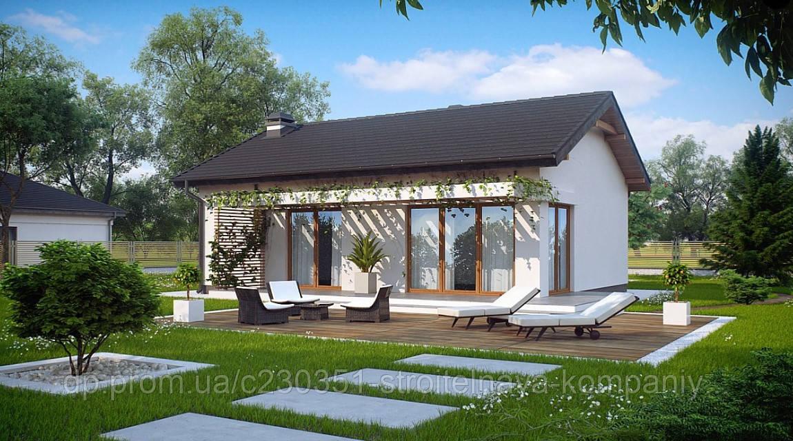 Проект дома uskd-40