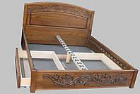 Кровать из натурального дерева Виктория 3, 1400*2000