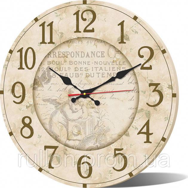 Часы настенные круглые YS-Art 33х33см (CL017)