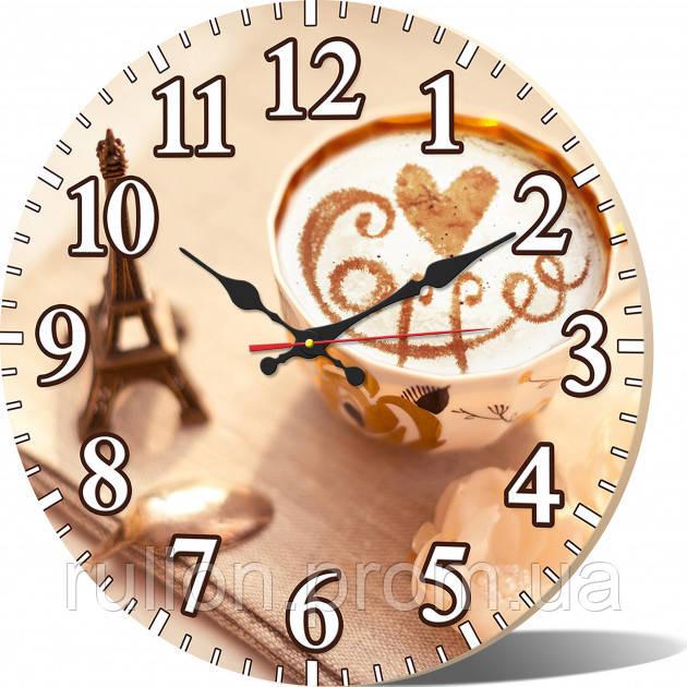 Часы настенные круглые YS-Art 33х33см (CL026)