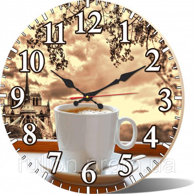 Часы настенные круглые YS-Art 33х33см (CL027)