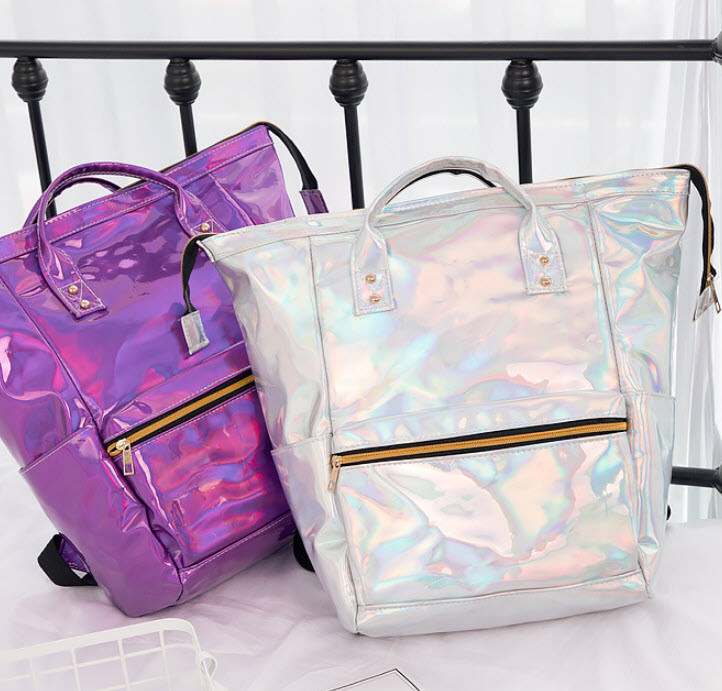 Голографический рюкзак-сумка трансформер