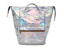 Голографический рюкзак-сумка трансформер, фото 2