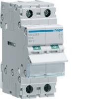SBN225 Выключатель нагрузки 2-полюсный (рубильник) 25А/230В, 1м, (Hager)