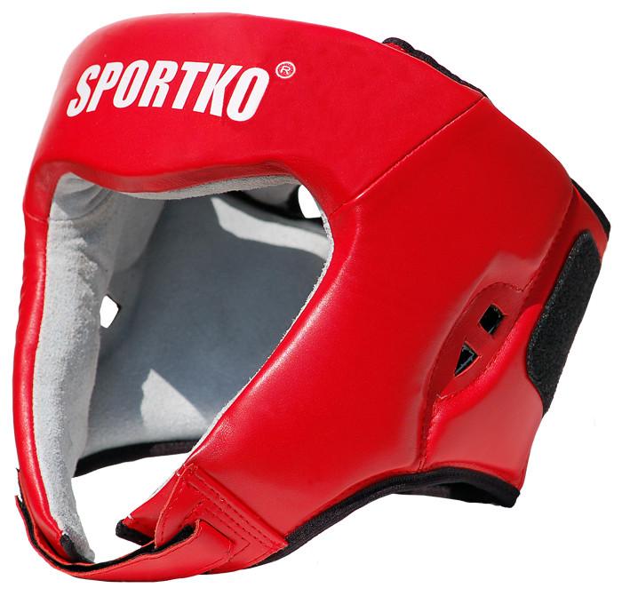 Шлем боксерский кожа Sportko FBU