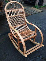 """Плетеная кресло-качалка из лозы """""""