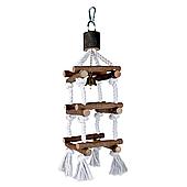 Игрушка для птиц Trixie Лесенка верёвочная «Natural Living» 34 см (натуральные материалы) 5886