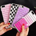 Чехол САА Diamond Samsung i9500 S4 Pink