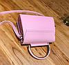 Ніжна сумка скриня з квітами та круглою ручкою, фото 3