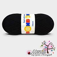 Пряжа Классик Бонбон Bonbon Classic Nako, №98206, черный