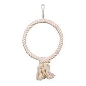 Игрушка для птиц Trixie Кольцо плетёное d=25 см (текстиль) 5166