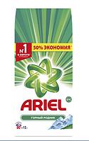 Стиральный порошок для белого Ariel Горный родник, 12 кг 80 стир, фото 1