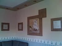 Наши работы: Дом 350 м кв отточенто, художественная роспись