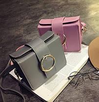 Каркасная сумка сундук с пряжкой, фото 2