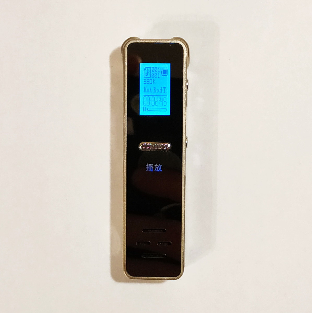Диктофон UnisCom M8,  microSD цифровой аккумуляторный USB. Без встроенной памяти