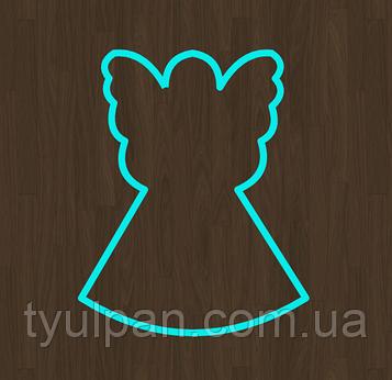 Вырубка кондитерская для пряника мастики марципана ангел 00022