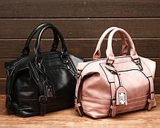 Відмінна жіноча сумка бочонок, фото 3