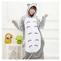 Теплая, мягкая пижама Кигуруми Тоторо S (на рост 150-160см)