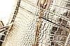 Стильный рюкзак под крокодил с заклепками , фото 4