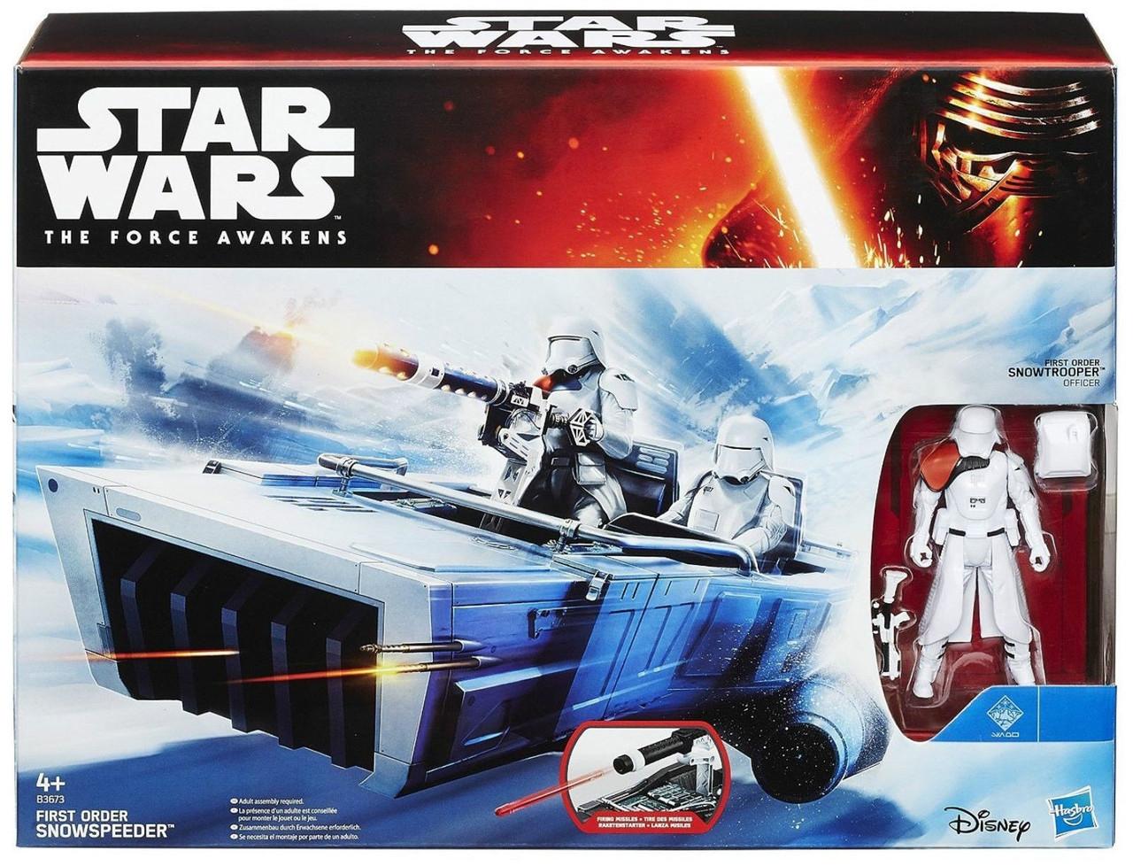 Набор Звездные войны Снежный спидер с фигуркой Штурмовика. Оригинал Hasbro B3673/B3672