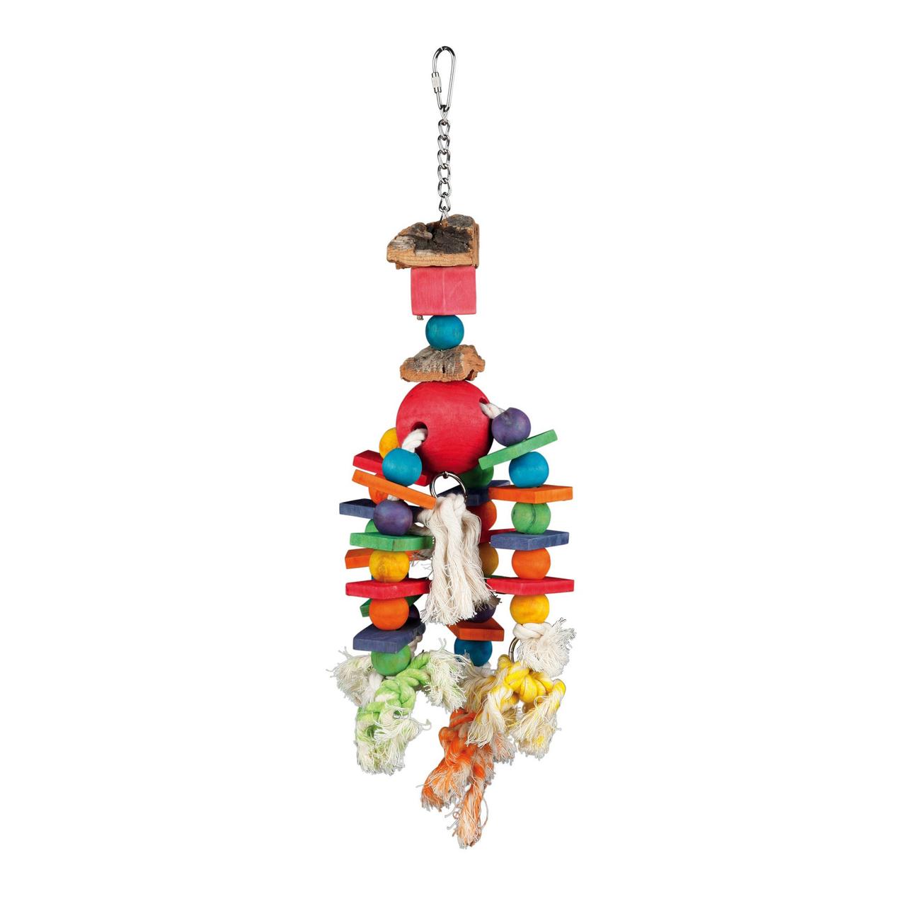 Игрушка для птиц Trixie подвесная 35 см (натуральные материалы)
