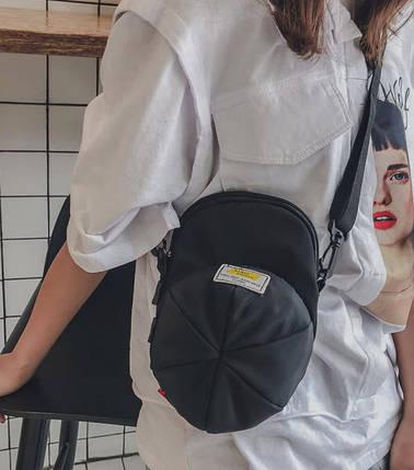 Стильна сумка у формі кепки, фото 2