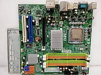Материнская плата MSI MEDION MS-7502 + E6750  S775/QUAD G33 DDR2