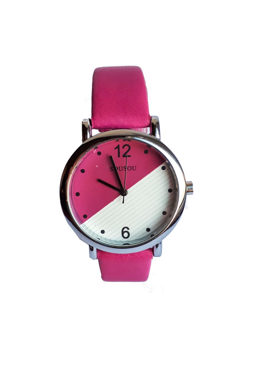 Часы женские SouSou Double малиновый
