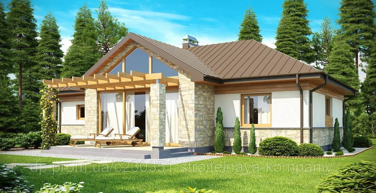 Проект дома uskd-50