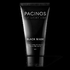 Черная маска для лица Pacinos BLACK MASK