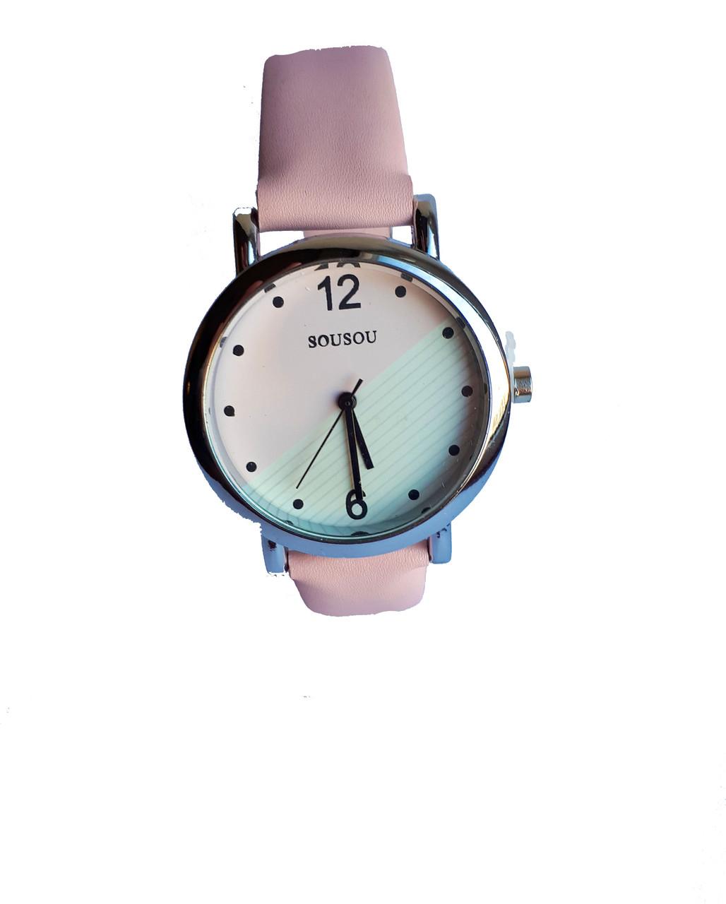 Часы женские SouSou Double Розовый