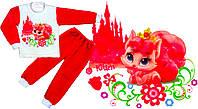 """03.15.04 Пижама """"Китти"""" (вельсофт) р.28-36, фото 1"""