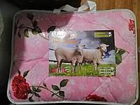 Одеяло шерстяное полуторное Шик, наполнитель овечья шерсть, фото 1