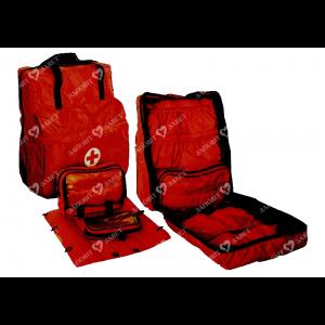Сумка-укладка рюкзак для спасателей МЧС и полевых госпиталей СУР.