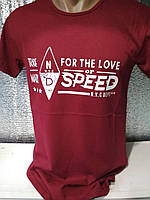 "Мужская футболка ""FOR THE LOVE"" Турция опт р. M, L, XL, XXL"