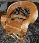"""Плетеное кресло из лозы """"Королевское"""""""