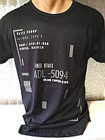 "Мужская футболка ""ADL"" Турция опт р. M, L, XL, XXL"