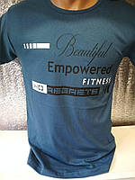 "Мужская футболка ""EMPOWERED"" Турция опт р. M, L, XL, XXL"