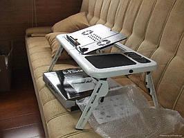 Стол, столик, портативный, для, ноутбука, качественный, легкий, удобный, с вентиляторами охлаждения