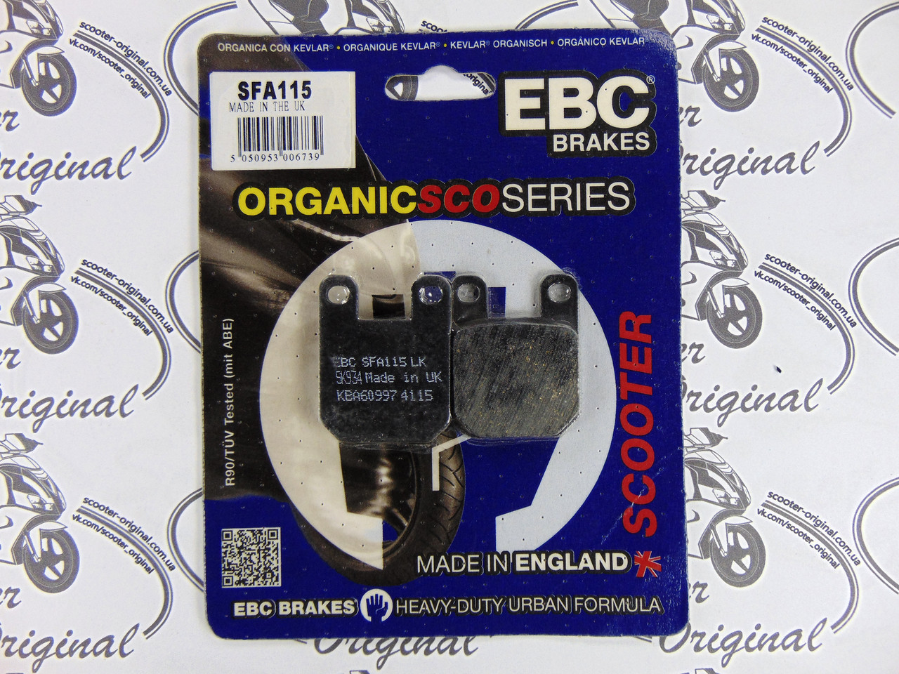 EBC Brake Pads SFA115