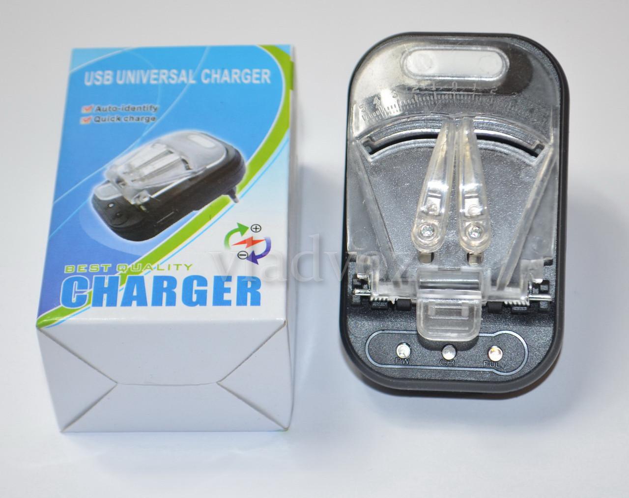 Универсальное зарядное жабка + USB автомат