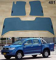 Коврики на Toyota Hilux '04-15. Автоковрики EVA