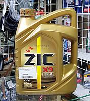 Масло моторное Zic X9 5W-40 4л