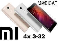 Xiaomi Redmi 4x 3/32gb 4100mAh компактный смартфон с хорошей батареей