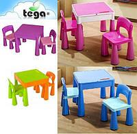 Столик и два стульчика Tega Mamut