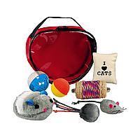 Игровой набор для кошек Trixie в сумочке (7 игрушек) 4538
