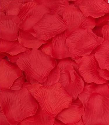Лепестки роз красные/ 1000 шт